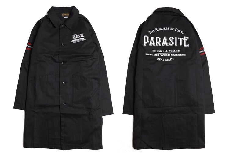 PARASITE T/C DUSTER COAT写真その2