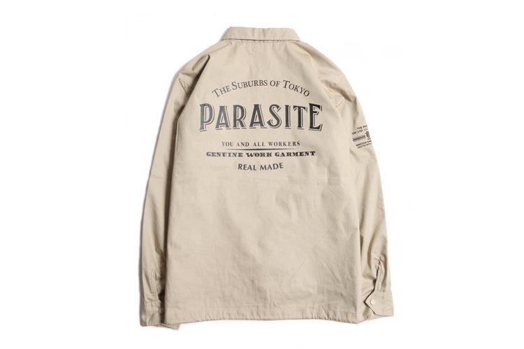 PARASITE T/C COACH JACKET写真その2