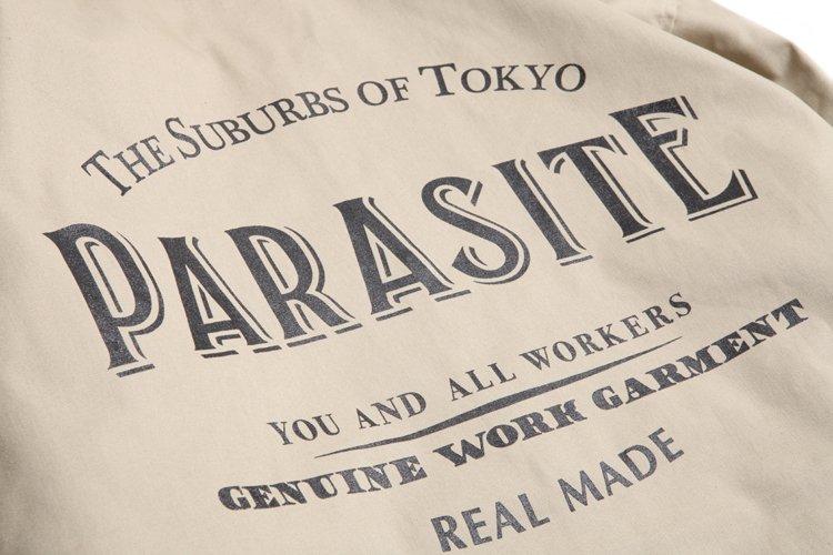 PARASITE T/C COACH JACKET写真その3