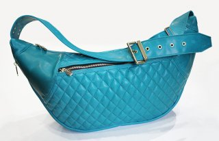 HORSE HIDE TYPE2 -TURQUOISE-