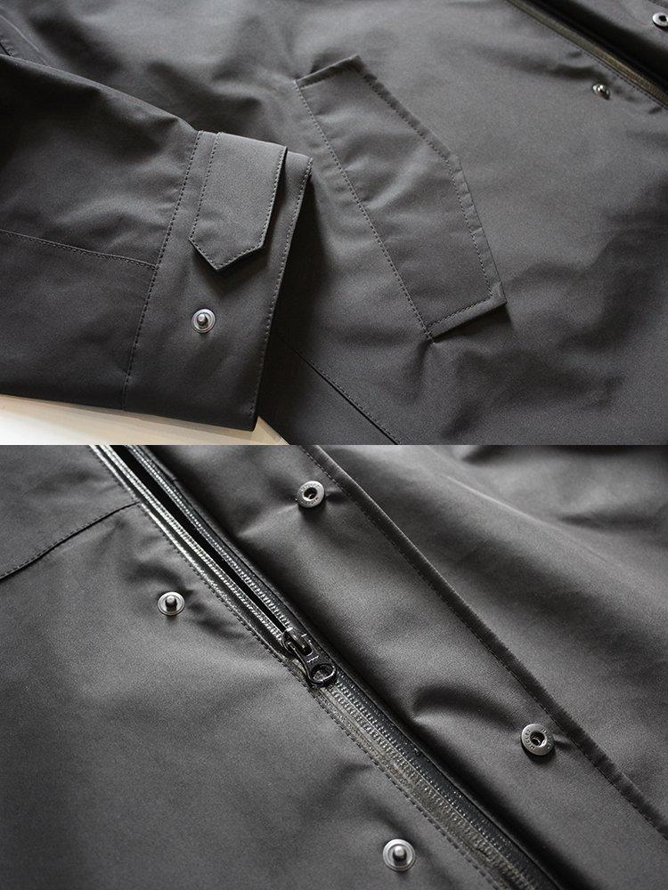 THREE LAYER COAT -BLACK-写真その3