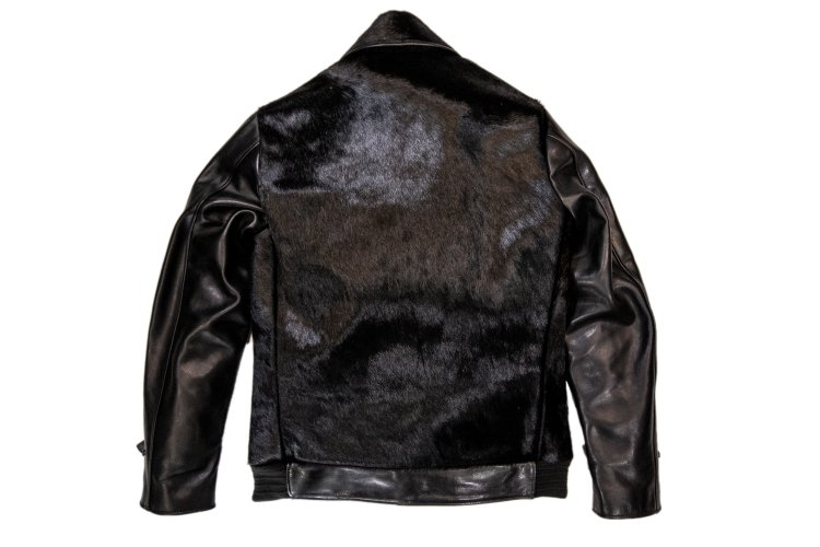 HORSE HAIR GRIZZLY JACKET -black-写真その2