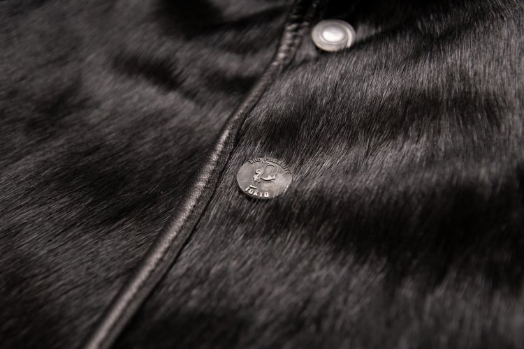 HORSE HAIR GRIZZLY JACKET -black-写真その3