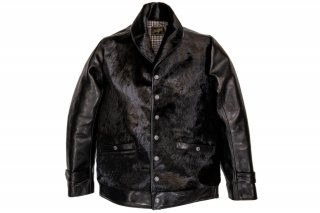 HORSE HAIR GRIZZLY JACKET -black-