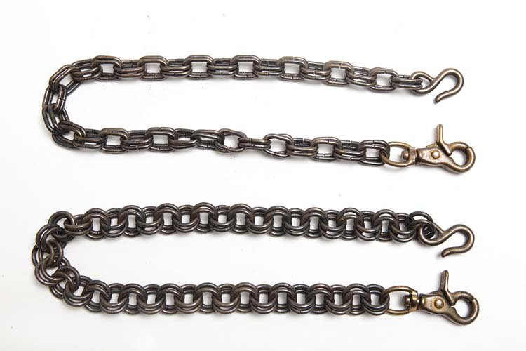 brass wallet chain antique写真その1