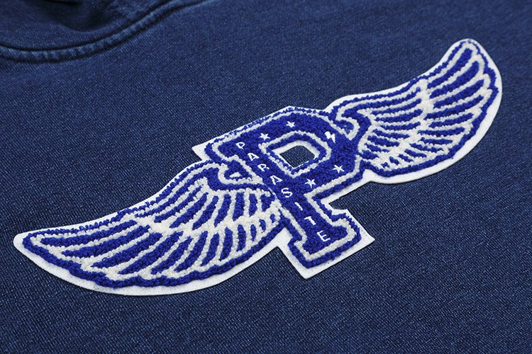 FLYING P INDIGO SWEAT PULLOVER PARKA写真その3