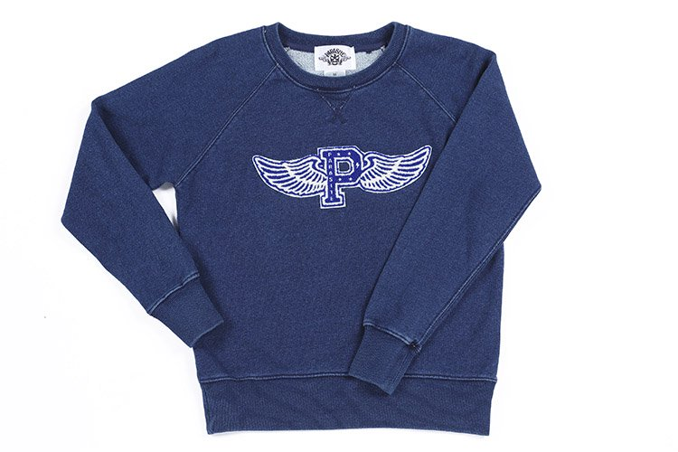FLYING P INDIGO SWEAT LADY'S写真その1