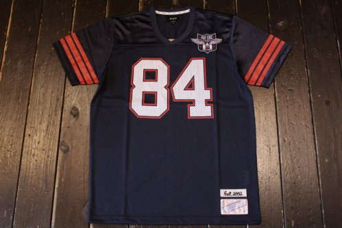 <img class='new_mark_img1' src='//img.shop-pro.jp/img/new/icons14.gif' style='border:none;display:inline;margin:0px;padding:0px;width:auto;' />HUF 1984 FOOTBALL JERSEY NAVY
