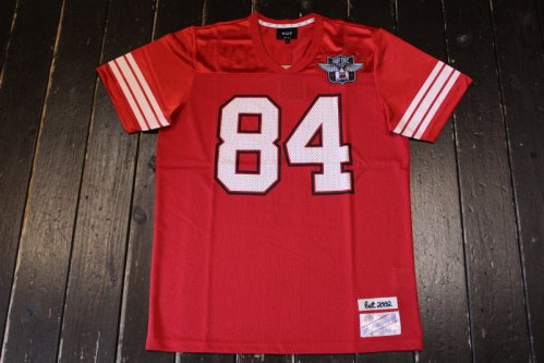 <img class='new_mark_img1' src='//img.shop-pro.jp/img/new/icons14.gif' style='border:none;display:inline;margin:0px;padding:0px;width:auto;' />HUF 1984 FOOTBALL JERSEY RED