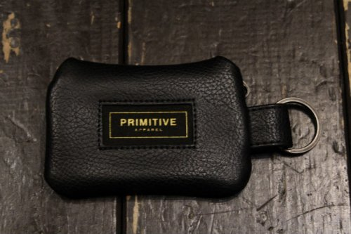 <img class='new_mark_img1' src='https://img.shop-pro.jp/img/new/icons14.gif' style='border:none;display:inline;margin:0px;padding:0px;width:auto;' />PRIMITIVE INTERNATIONAL KEYCHAIN WALLET BLACK