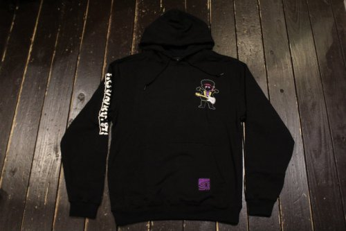 <img class='new_mark_img1' src='https://img.shop-pro.jp/img/new/icons14.gif' style='border:none;display:inline;margin:0px;padding:0px;width:auto;' />GRIZZLY GRIZZLY HENDRIX HOODY BLACK