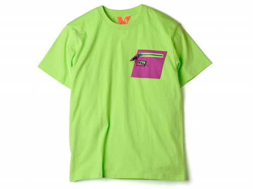<img class='new_mark_img1' src='//img.shop-pro.jp/img/new/icons14.gif' style='border:none;display:inline;margin:0px;padding:0px;width:auto;' />FLATLUX Aqua Pocket Tee lime
