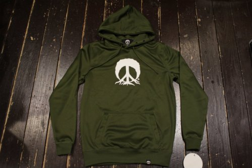 <img class='new_mark_img1' src='//img.shop-pro.jp/img/new/icons14.gif' style='border:none;display:inline;margin:0px;padding:0px;width:auto;' />GNARLY BONDED PEACETREE HOODIE OLIVE