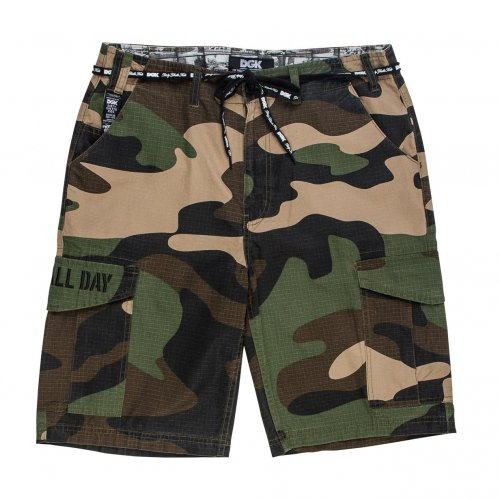 DGK OG CARGO SHORT BIG WOODS CAMO