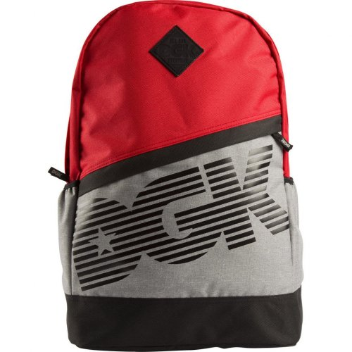 DGK DOWNTOWN ANGLE BACKPACK RED