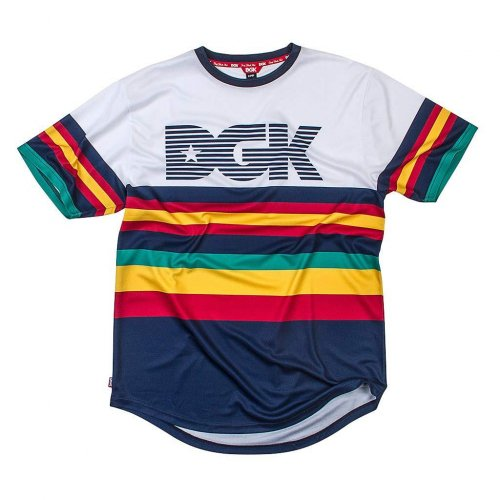 DGK MAJOR S/S KNIT WHITE