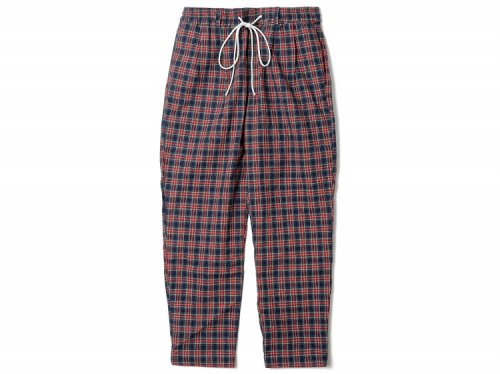 FLATLUX Ideal Eazy Pant Indian check red