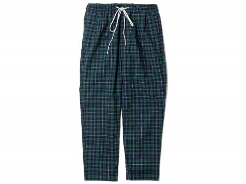 FLATLUX Ideal Eazy Pant Indian check green