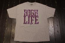 JSLV HIGH LIFE TIE DYE TEE ATHLETIC HEATHER/PURPLE