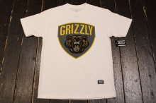GRIZZLY GRIZZLY CHAMPION TEE WHITE