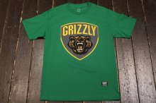 GRIZZLY GRIZZLY CHAMPION TEE GREEN
