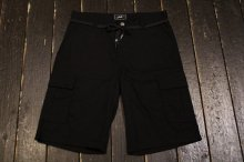 JSLV MAJOR CARGO SHORT BLACK