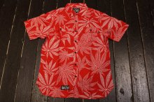 DGK CANNABIS CUP CUSTOM S/S WOVEN RED