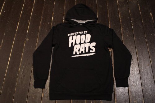 thirtytwo ATTACK OF THE RAT PO FLEECE BLACK