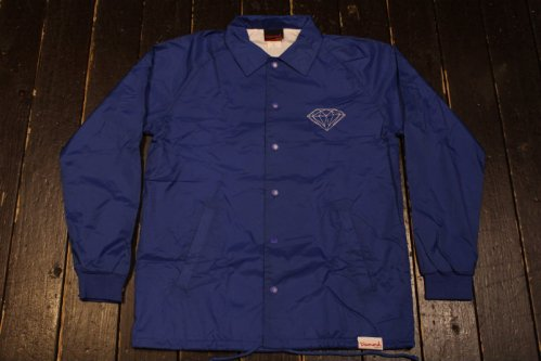 DIAMOND SUPPLY CO CRAFTSMAN COACH'S JACKET ROYAL