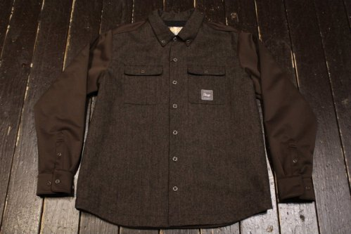<img class='new_mark_img1' src='https://img.shop-pro.jp/img/new/icons20.gif' style='border:none;display:inline;margin:0px;padding:0px;width:auto;' />VESP WOOL BONDING SHIRTS JACKET BR(ブラウン)