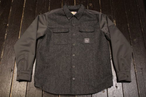 <img class='new_mark_img1' src='https://img.shop-pro.jp/img/new/icons20.gif' style='border:none;display:inline;margin:0px;padding:0px;width:auto;' />VESP WOOL BONDING SHIRTS JACKET CGR(チャコールグレイ)