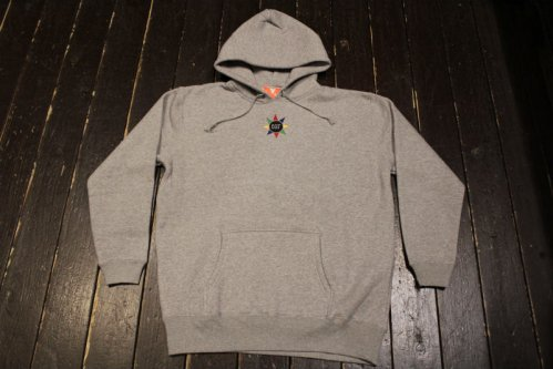 FLATLUX Sunshine Hoodie - heather grey