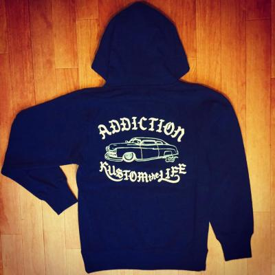 <img class='new_mark_img1' src='//img.shop-pro.jp/img/new/icons55.gif' style='border:none;display:inline;margin:0px;padding:0px;width:auto;' />Addiction Kustom the life RT kustom MERCURY ZIP PARKA