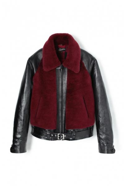 <img class='new_mark_img1' src='//img.shop-pro.jp/img/new/icons26.gif' style='border:none;display:inline;margin:0px;padding:0px;width:auto;' />Attractions Lot.252 GRIZZLY JACKET BURGUNDY-BLACK