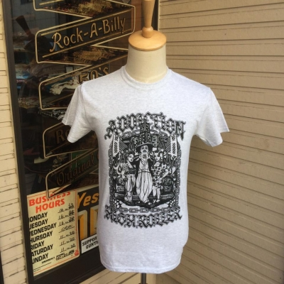 Addiction Kustom The Life HlGH ROLLER Tee WH