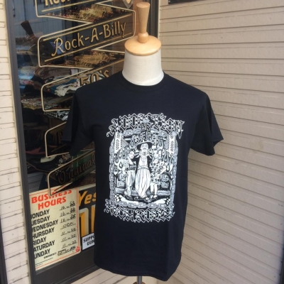 Addiction Kustom The Life HlGH ROLLER Tee BK