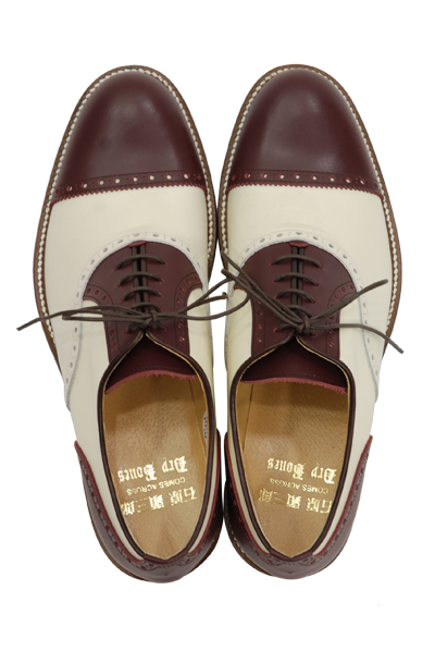 <img class='new_mark_img1' src='//img.shop-pro.jp/img/new/icons2.gif' style='border:none;display:inline;margin:0px;padding:0px;width:auto;' />Quarter Brogue Cap Toe Shoes  石原顕三郎×Dry Bones
