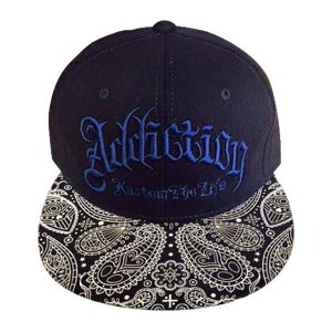 Addiction kustom The Life SNAP BACK BB CAP ペイスリー柄2