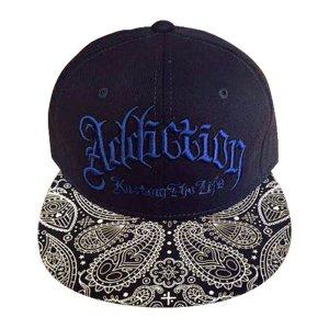 Addiction kustom The Life SNAP BACK BB CAP ペイスリー柄2