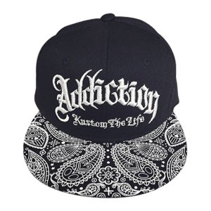 Addiction kustom The Life SNAP BACK BB CAP ペイスリー柄 3