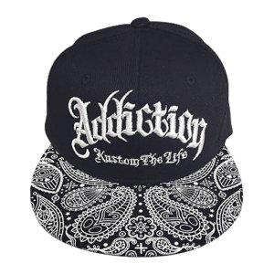 Addiction kustom The Life SNAP BACK BB CAP ペイスリー柄 3