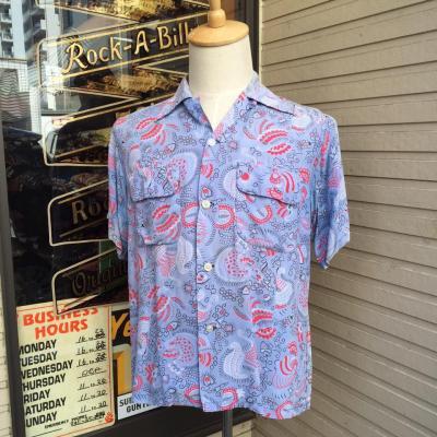 50s vintag ハワイアンシャツ