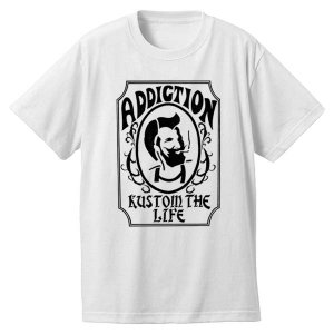<img class='new_mark_img1' src='https://img.shop-pro.jp/img/new/icons33.gif' style='border:none;display:inline;margin:0px;padding:0px;width:auto;' />Addiction kustom the life Zig Zag Tee  再入荷!!