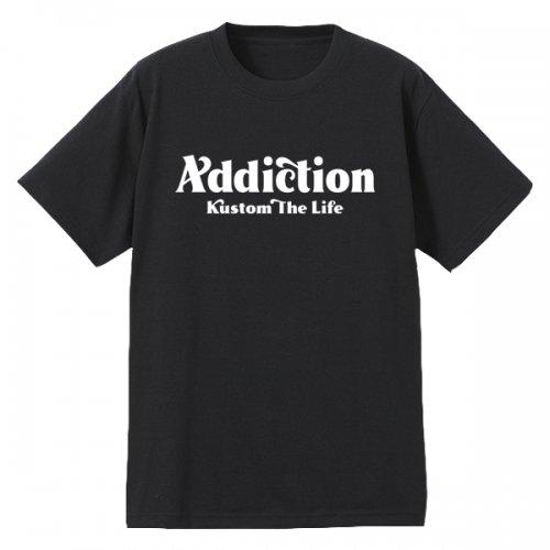 "Addiction kustom The Life10th Anniversary Addiction kustom The Life Bar logo"" T-Shirt予約受付中!!"