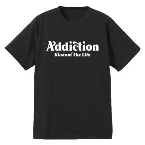 "<img class='new_mark_img1' src='https://img.shop-pro.jp/img/new/icons14.gif' style='border:none;display:inline;margin:0px;padding:0px;width:auto;' />Addiction kustom The Life10th Anniversary Addiction kustom The Life Bar logo"" T-Shirt予約受付中!!"