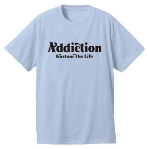 "<img class='new_mark_img1' src='https://img.shop-pro.jp/img/new/icons14.gif' style='border:none;display:inline;margin:0px;padding:0px;width:auto;' /> Addiction kustom The Life Bar logo"" T-Shirt LB 9月入荷!!"