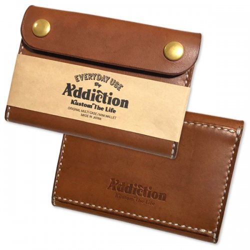 "Addiction kustom The Life10th Anniversary /Original Multi Case / Mini Wallet"""