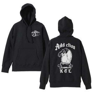 <img class='new_mark_img1' src='https://img.shop-pro.jp/img/new/icons14.gif' style='border:none;display:inline;margin:0px;padding:0px;width:auto;' />Addiction kustom the life / VULTURE HOODIE