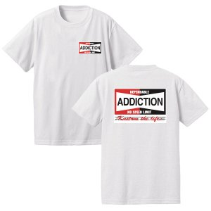 <img class='new_mark_img1' src='https://img.shop-pro.jp/img/new/icons14.gif' style='border:none;display:inline;margin:0px;padding:0px;width:auto;' />Addiction kustom the life  NO SPEED LIMIMT Tee 入荷!!