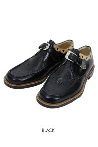DryBones Western Moccs Monk Strap Shoes